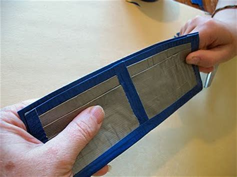 How Do You Make A Wallet Out Of Paper - how to make a duct wallet crafts by amanda
