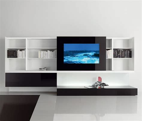 home interior design with multimedia center furniture
