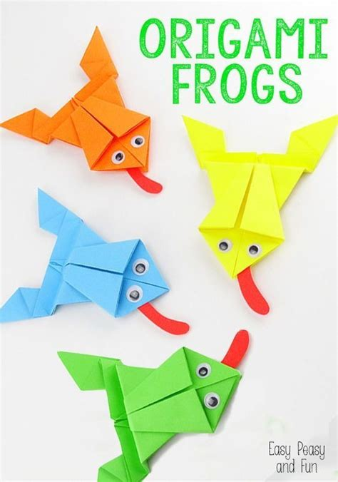 25 Best Ideas About Origami Frog On Easy - 25 best ideas about paper folding for on