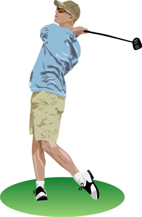 animated golf swing golf driver swing clip art at clker com vector clip art