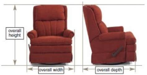 furniture measurement guide dave lj s rv furniture