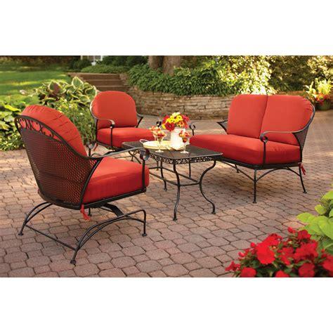 ragan meadow 7 piece outdoor sectional sofa set seats 5 sandhill outdoor sectional sofa set replacement cushions
