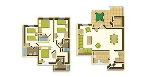 3 bedroom woodland lodge center parcs four bedroom floorplan exle floor plans pinterest