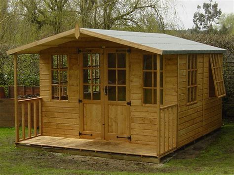 12 X8 Shed by Chilworth Summerhouse Shed 8 X 12 Surrey Shed Manufacturer
