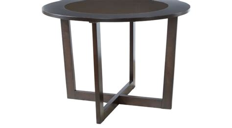 mabry espresso dining table contemporary