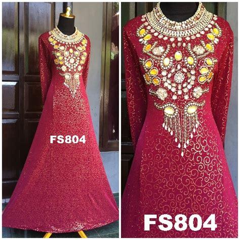 Fk08 Khanza Gamis Balotelli Gamis Pesta Baju Pesta Baju Muslim Gamis 1 fs804cc fika shop