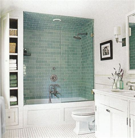 subway tile bathroom floor ideas frosted green glass subway tile glasses cabinets and built ins