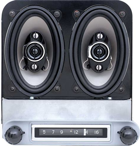 Speaker Gmc Radio 1954 gmc truck parts t3108 1954 55 1st series chevrolet am fm replacement radio