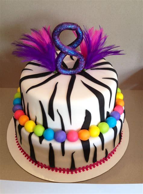 zebra birthday cake cakecentralcom