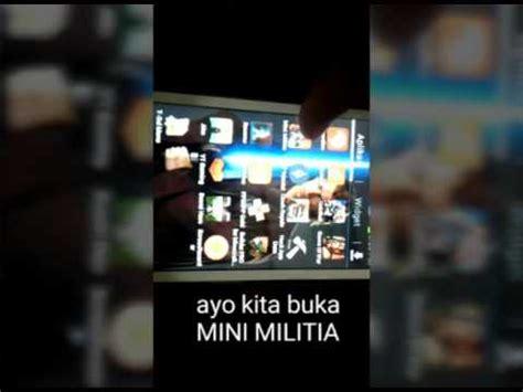 download game android yg sudah di mod cara agarcepat naik pangkat pada minimilitia mobile