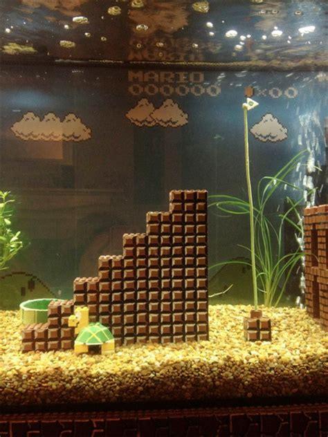 Mario Brothers Aquarium Decorations by Mario Aquarium