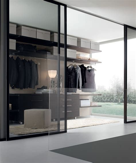12 Walk In Closet Inspirations To Give Your Bedroom A Closet With Glass Doors