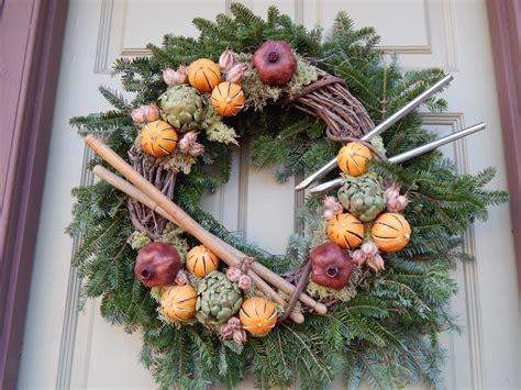 new year pineapple decoration free images nature outdoor branch winter home