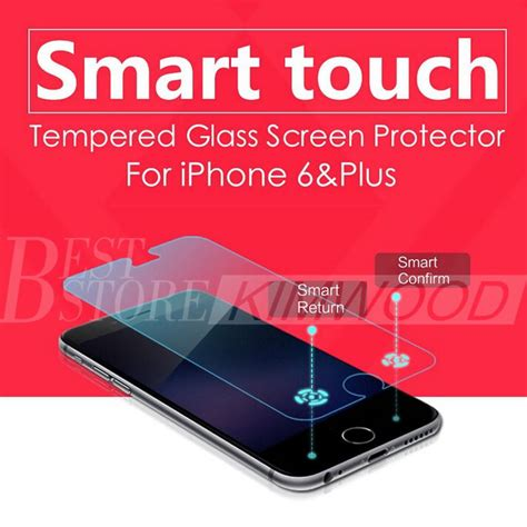 Smart Tempered Glass Protection Screen 03mm For Iphone 1 smart touch tempered glass screen protector for iphone 6 4 7 iphone 6 plus 5 5 inch intelligent