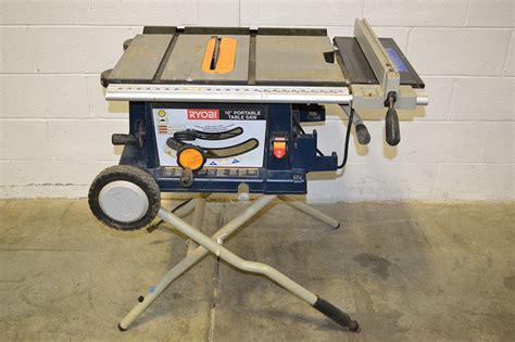 10 portable table saw ryobi bts20rs 10 quot portable table saw the equipment hub