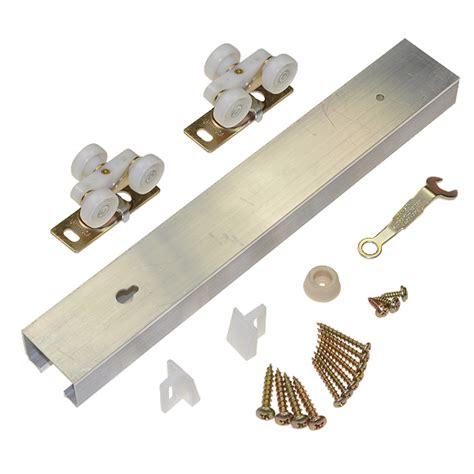 Pocket Door Hardware Kit by Le Johnson 100721dr Aluminum 72 Quot Track Single Pocket Door