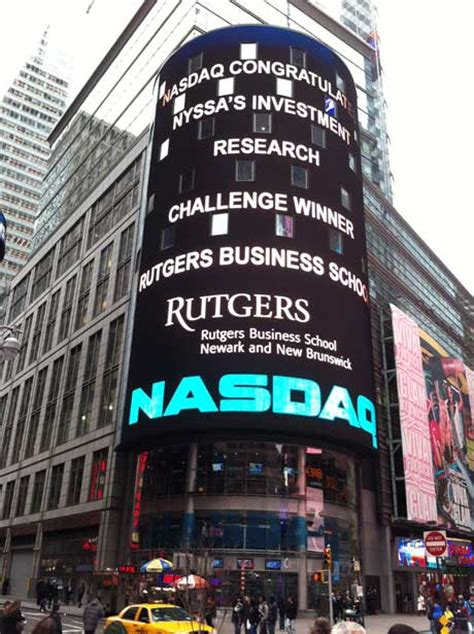 Rutgers Business School Mba Current Students by Rutgers Business School Wins Cfa Institute Research