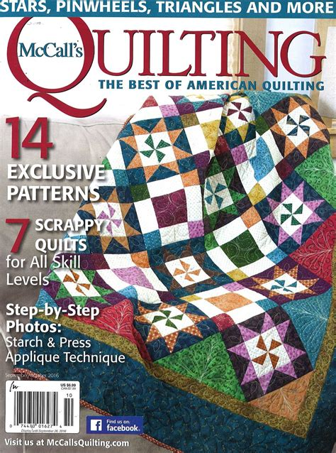 mccall s quilting magazine from 12 58 compare 24