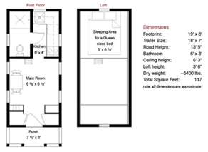 free tiny house floor plans tumbleweed tarleton tiny house