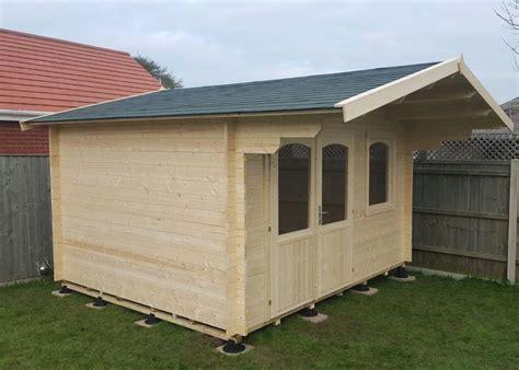 Log Cabin Design Timber Base Pads