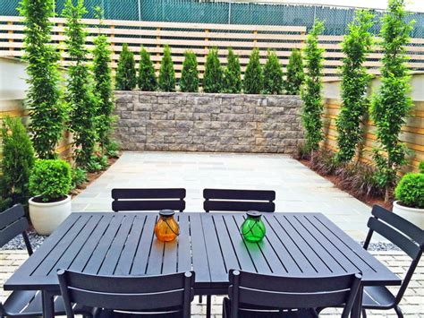 Boerum Hill, Brooklyn Townhouse Backyard Bluestone Patio, Cedar Fence, Paver R Contemporary
