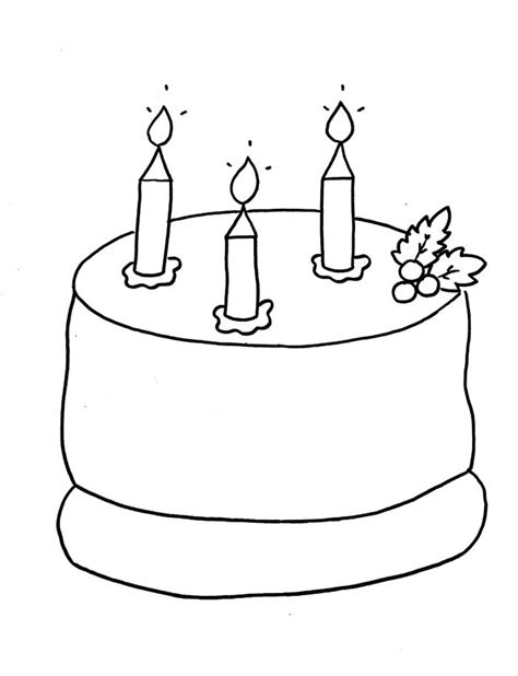 Birthday Cake Drawing at GetDrawings | Free download