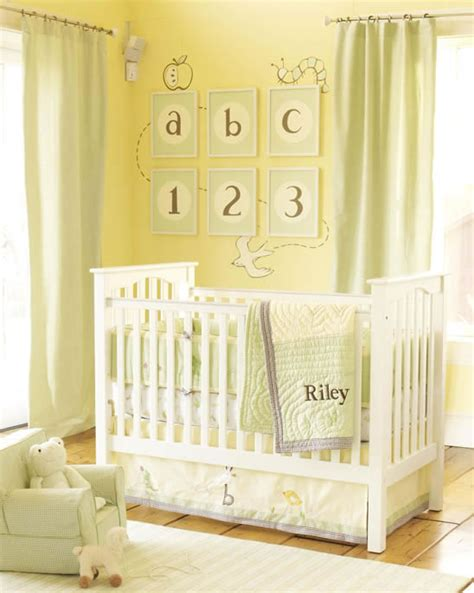 gender neutral nursery ideas boy nursery pottery barn