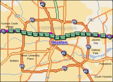 louisiana map i 10 i 10 houston traffic maps and road conditions