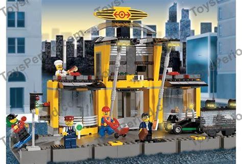 Lego City Eisenbahn Zubehör 600 by Lego 4513 Grand Central Station Set Parts Inventory And