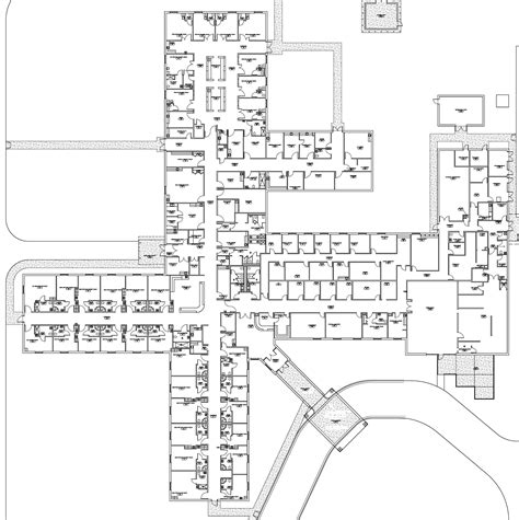 mental hospital floor plan multi storey building plans