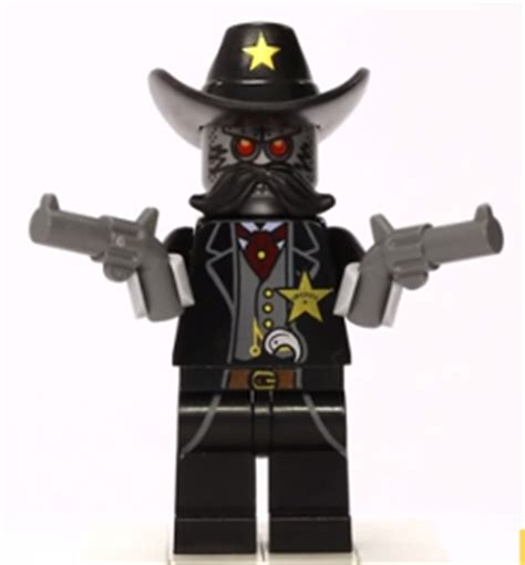 film cowboy robot the lego movie tlm023 sheriff not a robot deputy cowboy