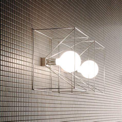 applique bagno moderne applique murale de design moderne en fil d acier