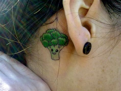 pictures worst tattoo designs ever broccoli tattoo