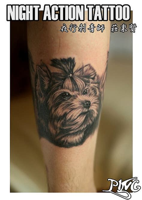 yorkie tattoo pictures yorkshire tattoo 約克夏刺青 flickr photo sharing