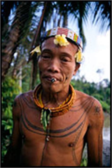 tattoo hunter mentawai travel photo gallery siberut island indonesia