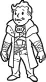 pip boy coloring page image icon ncr ranger combat armor png fallout wiki