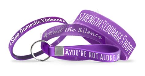 domestic violence color personalized purple color domestic violence awareness