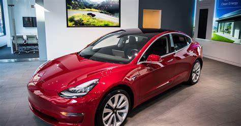 teslas model     selling luxury car