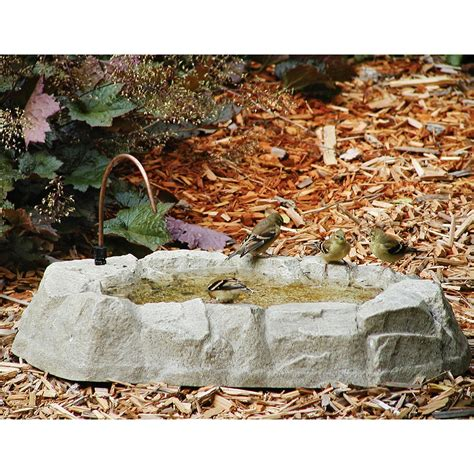backyard nature products rocky mountain ground bird bath