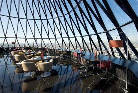 bar at the top of the gherkin the restaurant at the gherkin opens to the public for the summer latest news