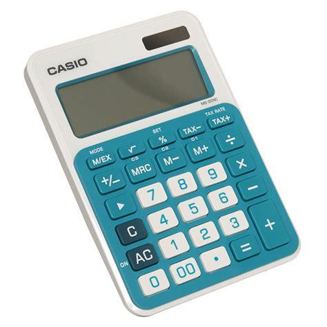 Casio Ms 20 Nc Kalkulator Blue Ms20nc 綷 ms 20nc 寘 綷