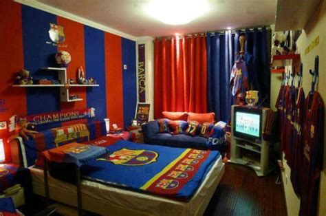 Barcelona Fc Room modern barcelona bedroom interior furniture decorations ideas
