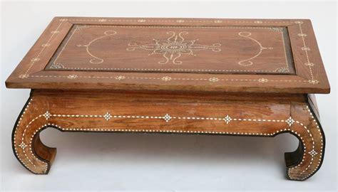 Moroccan Coffee Table by Superbly Inlaid Moroccan Coffee Table At 1stdibs