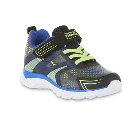 boys black athletic shoes everlast 174 sport boys jackal black athletic shoe