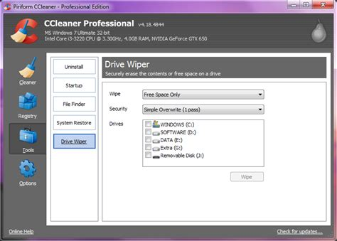 ccleaner quick clean widget ccleaner free download full version for windows with crack