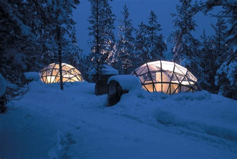 igloo house 20 glass igloo tiny houses make village for northern lights