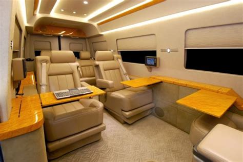 Private Jet Floor Plans by Private Jet Interiors Replicated In Mercedes Benz Sprinter
