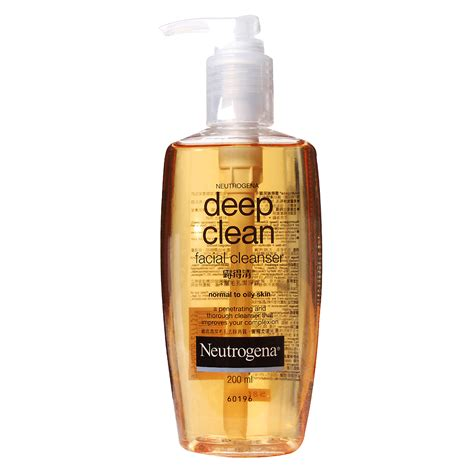 deep clean neutrogena deep clean facial cleanser 0 4 from redmart