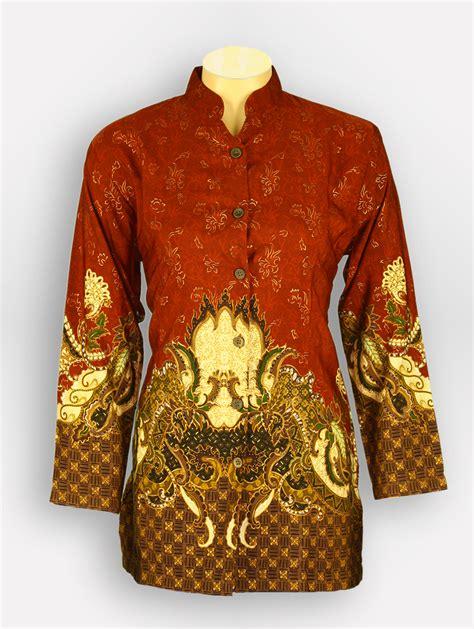 Baju Korpri Wanita L baju batik wanita aryasena 1975 batik tanah abang
