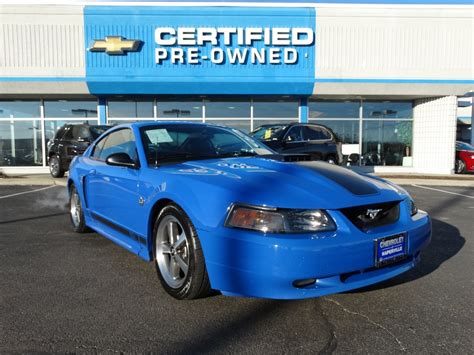 mustang pre owned pre owned 2004 ford mustang premium mach 1 2dr car in